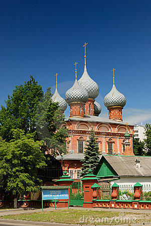 Resurrection church in Kostroma