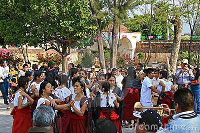 Resurrection Dance, Easter, Mexico Editorial Image