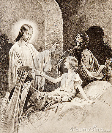 The Resurrection of the Daughter of Jairus