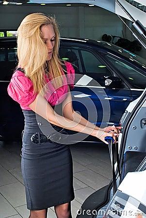 Resväskakvinna