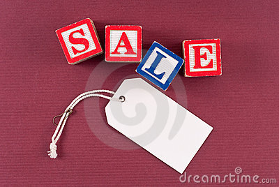 Retail Sale Discount Concept