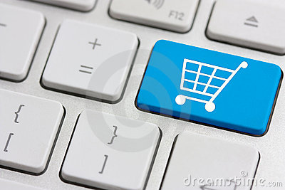 Retail or shopping cart icon