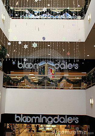 Bloomingdales Store Shopping Mall Editorial Stock Photo