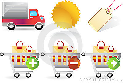 Retail Website Icons
