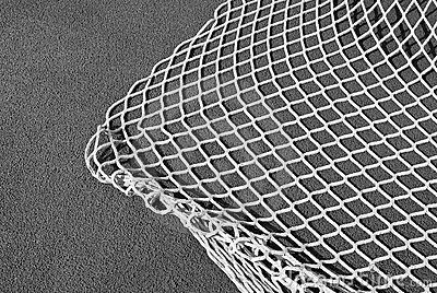Rete da pesca in in bianco e nero fotografie stock for Rete da pesca arredamento