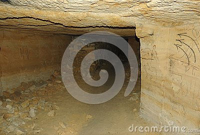Rete dei catacombs più lunga in mondo, Odessa, Ucraina