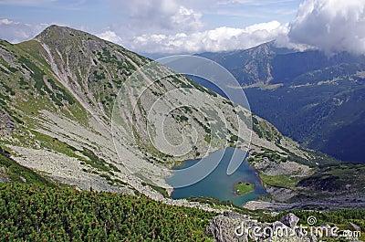 Retezat mountain scene