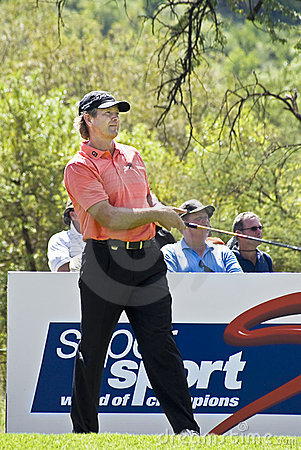 Retief Goosen - 11th Tee - NGC2009 Editorial Photography