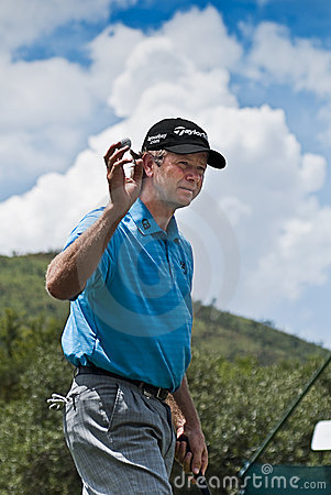 Retief Goosen - Thanks to Crowd Editorial Photo