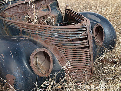 Retired automobile.