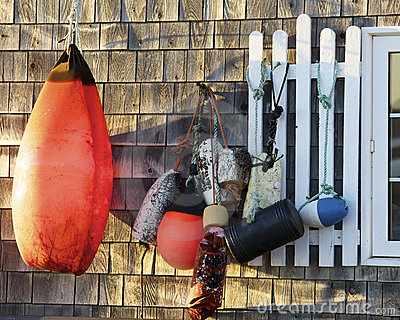 Retired boat buoys