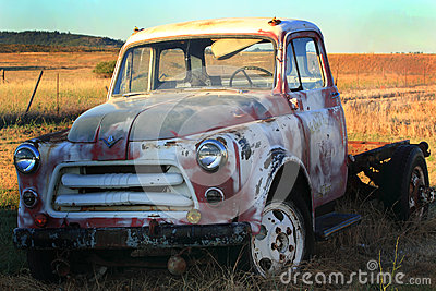 Retired International Harvester Pickup