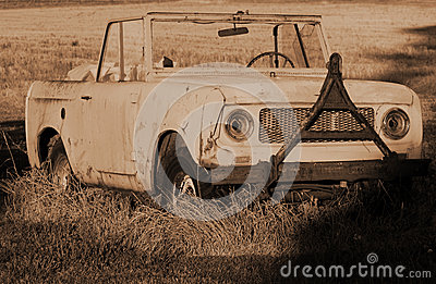Retired International Harvester Scout