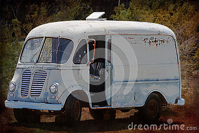 Retired Junk Van