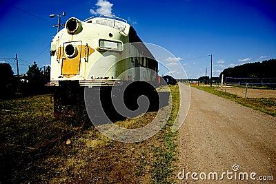 Retired Locomotive