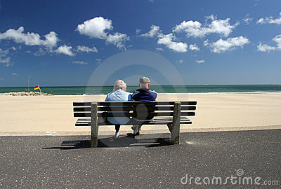 Retired Senior couple Relaxing