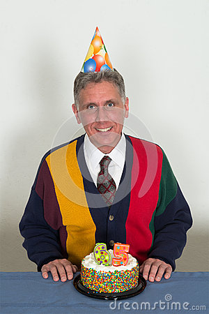 Free Retirement Birthday Party Old Man Royalty Free Stock Image - 45248576