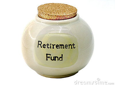 retirement & savings. RETIREMENT FUND SAVINGS JAR