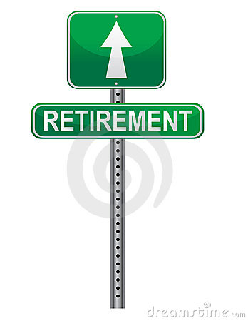 Retirement Street sign