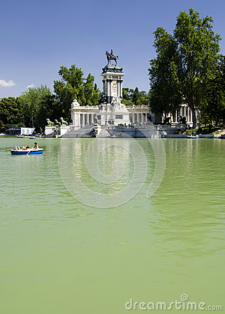 Retiro Park Lake, Madrid