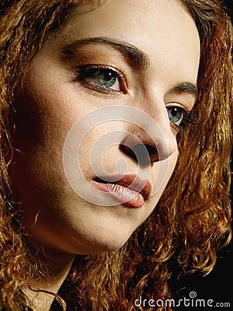 Retrato clásico 2 de la mujer