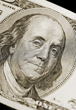 Retrato de Ben Franklin