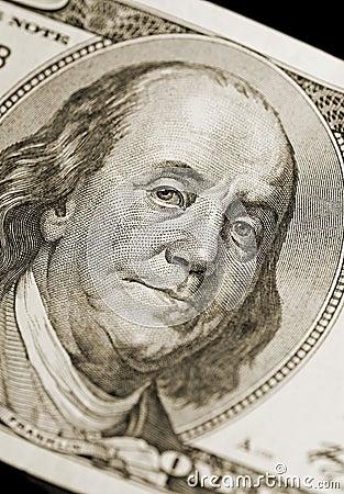 Retrato de Ben Franklin
