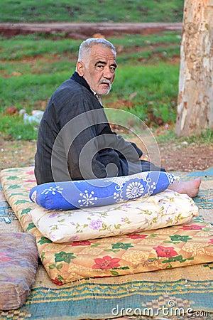 Retrato de los refugiados sirios que viven en Turquía Fotografía editorial