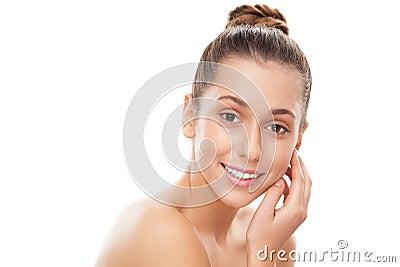 Retrato de una mujer joven