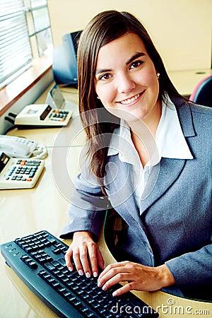 Retrato do contabilista do negócio