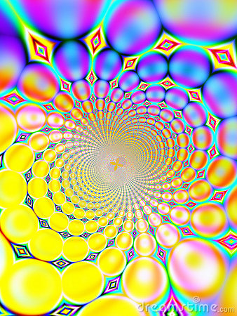 Retro 1960s 1970s 60s 70s Vortex Background