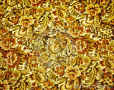 Retro 1970 s Upholstery Pattern
