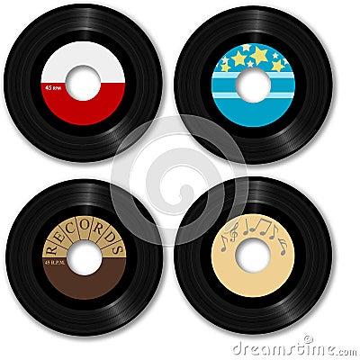 Retro 45 Rpm Record Stock Images Image 2687864