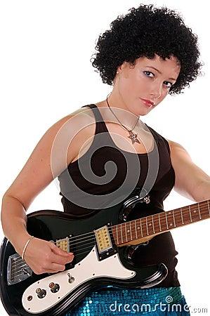 Retro 60 s Rock Girl 4