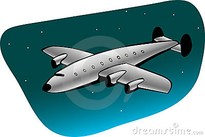 Retro airliner