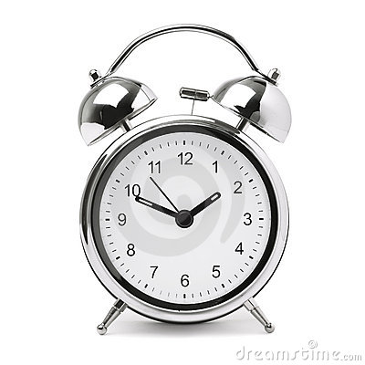 Free Retro Alarm Clock Royalty Free Stock Photo - 16532255