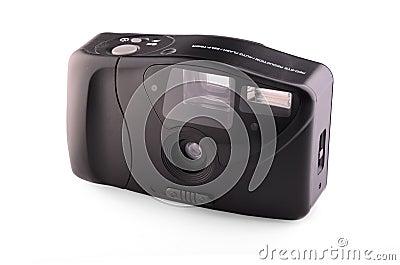 Retro analogue compact camera