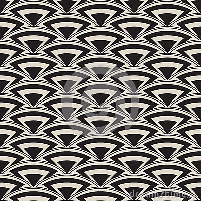Free Retro Antique Seamless Pattern In Art Deco Style Stock Photography - 33916972