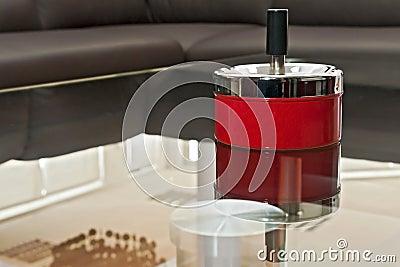 Retro ashtray
