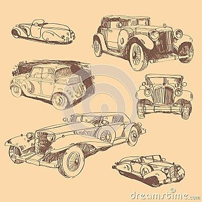 Retro automobiles