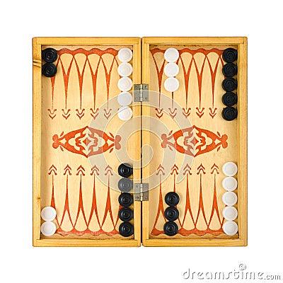 Free Retro Backgammon Game Stock Images - 5066414