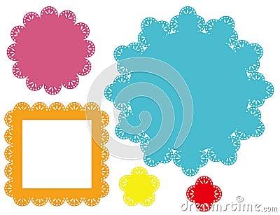 Retro blocchi per grafici di disegno