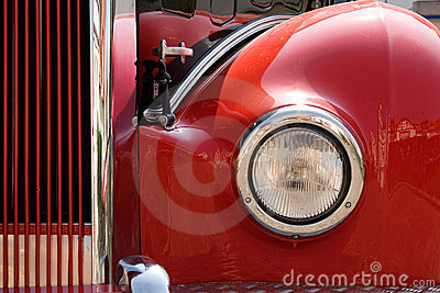 Retro Bus Headlight