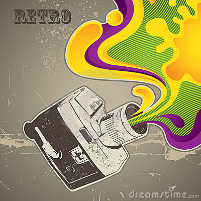 Free Retro Camera Royalty Free Stock Photos - 14548808
