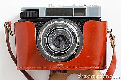 Retro camera and case