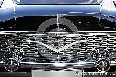 Retro car front
