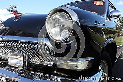 Retro car GAZ-21 Editorial Photo