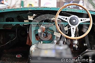 Retro Car Interiors