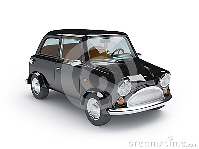 Retro car mini