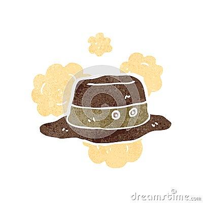 retro cartoon adventurer hat